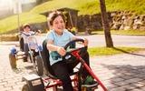 Gut Wenghof Kinder auf Carts