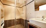 Badezimmer im Hotel Kroneck
