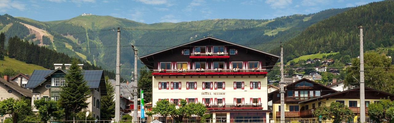 Hotel Seehof Außenansicht vorne