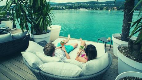 Hotel Eden Park Lounge beim See