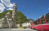 Bernina  Express in Tirano
