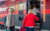 Einstieg im Railjet