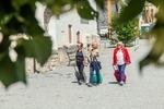Lotte, Ilse und Sissi beim Spaziergang