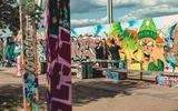 Im Mauerpark wurde die Inspiration dann endlich in ein Werk umgemünzt.