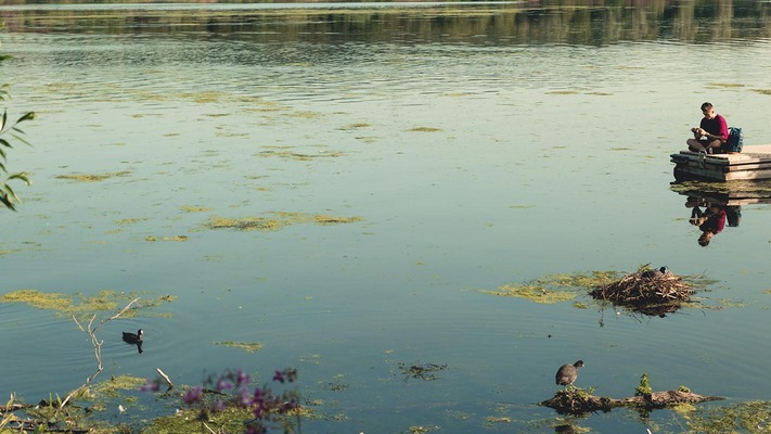 Entspannt am See
