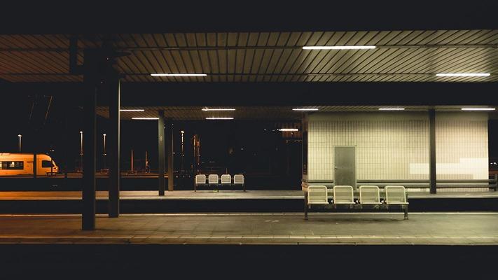 Bahnsteig in Bochum