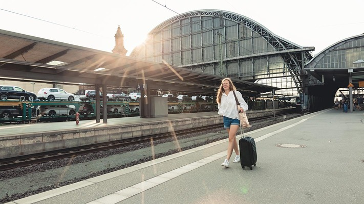 Bahnsteig in Bremen