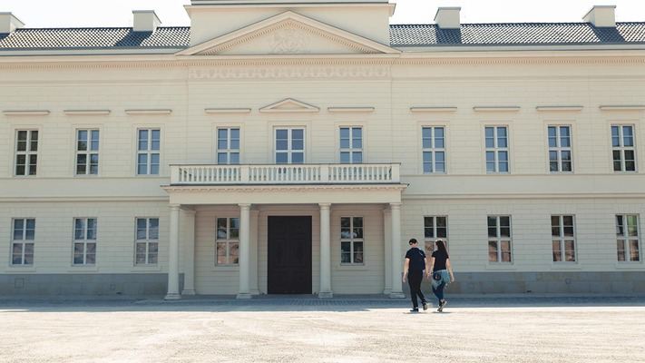 Altes Gebäude in Hannover