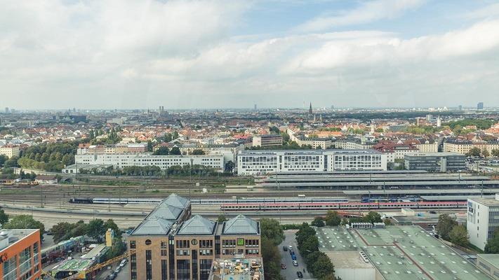Panorama über München