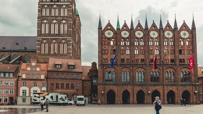 Großer Platz in Stralsund