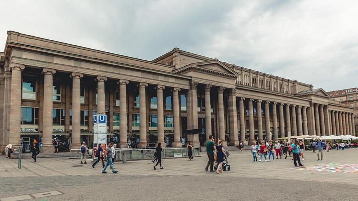 Gebäude in Stuttgart