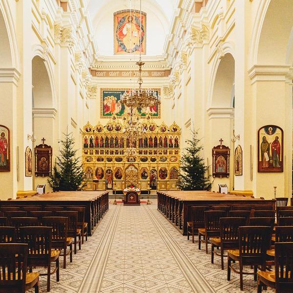 Die Kathedrale von Sankt Johannes von innen