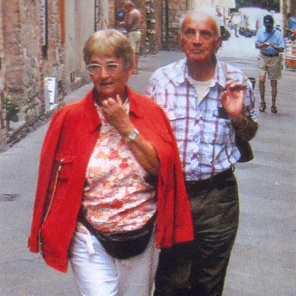 Maja und Stefan beim Sightseeing