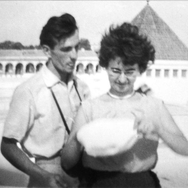 Ein altes Foto von Maja und Stefan