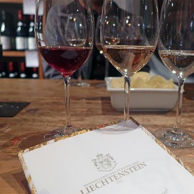 Weinverkostung auf einem Weingut