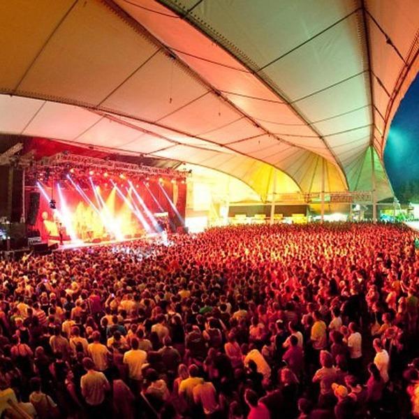 Festivalgelände in Wiesen