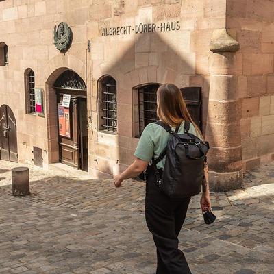 Mariella besucht das Albrecht Dürer Museum