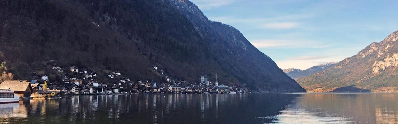 Panorama von Hallstatt