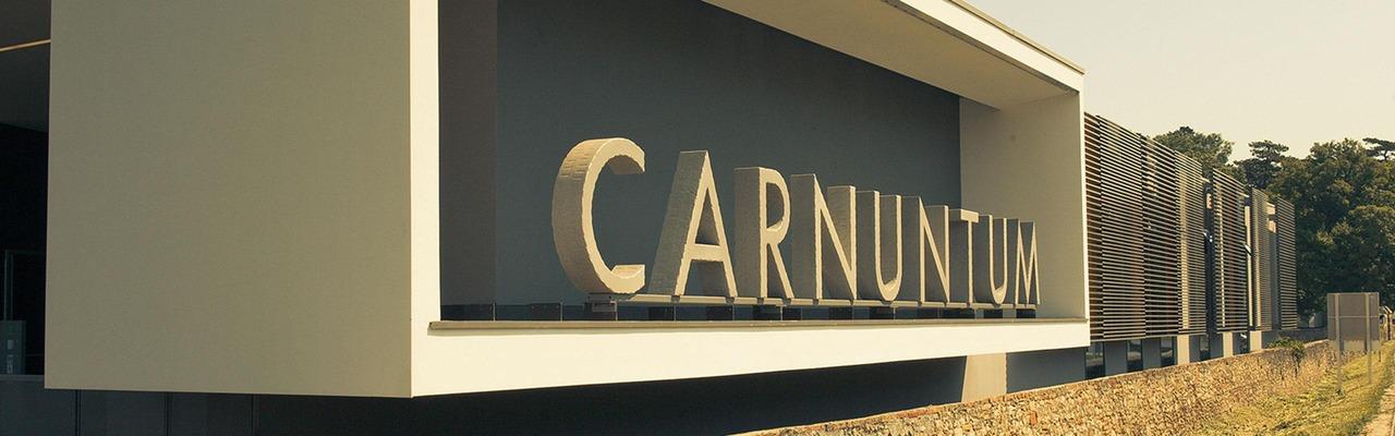 """Schriftzug """"Carnuntum"""""""