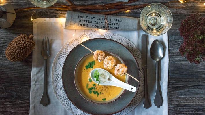 Foodblog Weihnachtsspecial mit Karottensuppe