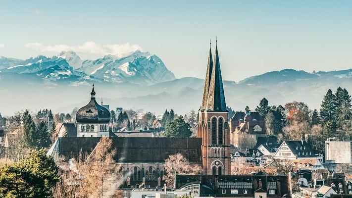 Bregenz Stadtpanorama