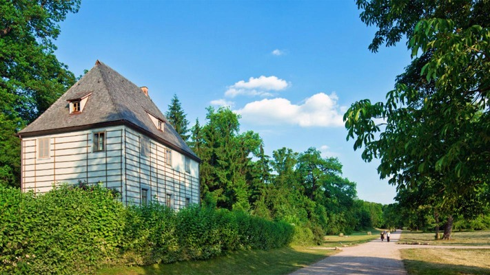 Goethe's Gartenhaus in Weimar