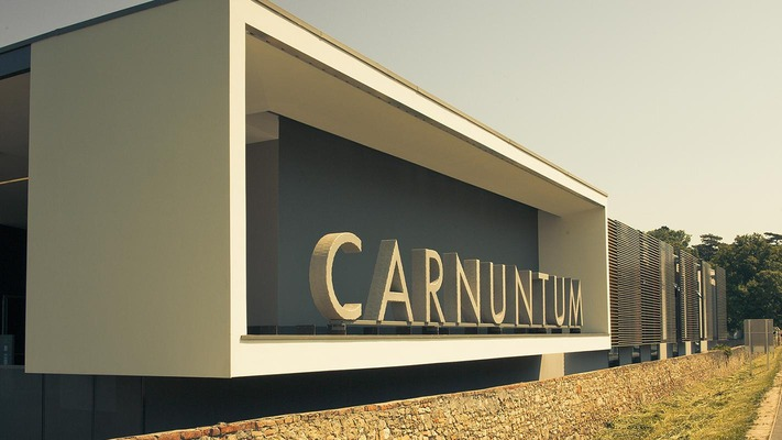 """Der Schriftzug """"Carnuntum"""""""