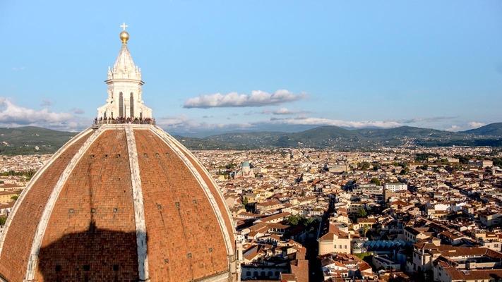 Blick über die Dächer von Florenz