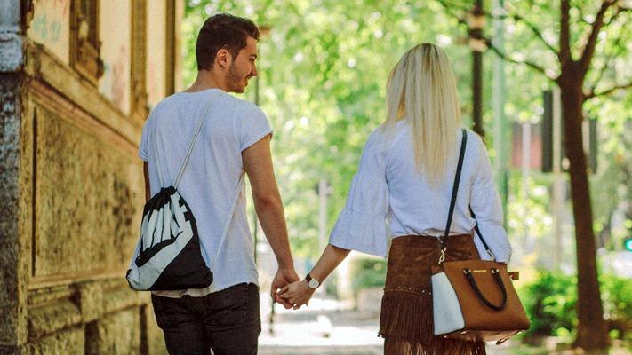 Hannah und Hannes in Mailand
