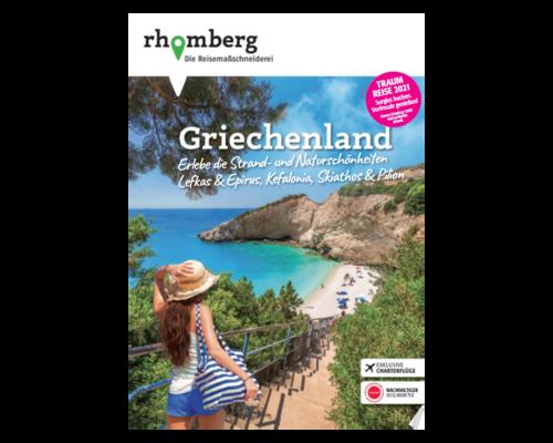 """Titelbild eines Katalogs von """"Rhomberg"""""""