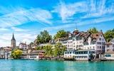 Panoramafoto von Zürich
