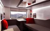New couchette car interior view