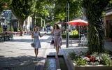 Immer in Balance bleiben - Fußgängerzone Bad Reichenhall