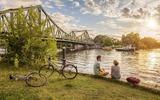 Fahrradtour zur Glienicker Brücke