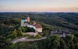 Blick auf die Wartburg bei Eisenach
