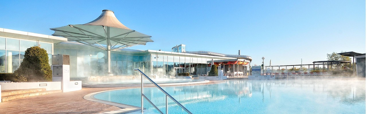 Therme Laa exterior view