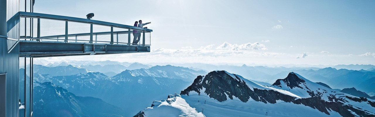 Viewing platform in Zell am See