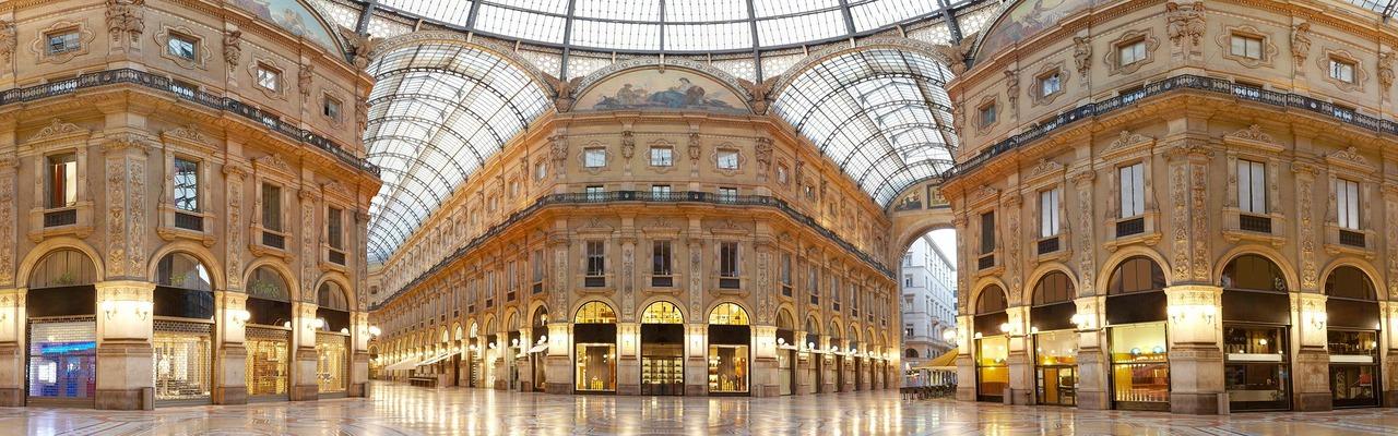 Vittorio Emanuele Gallerie in Mailand