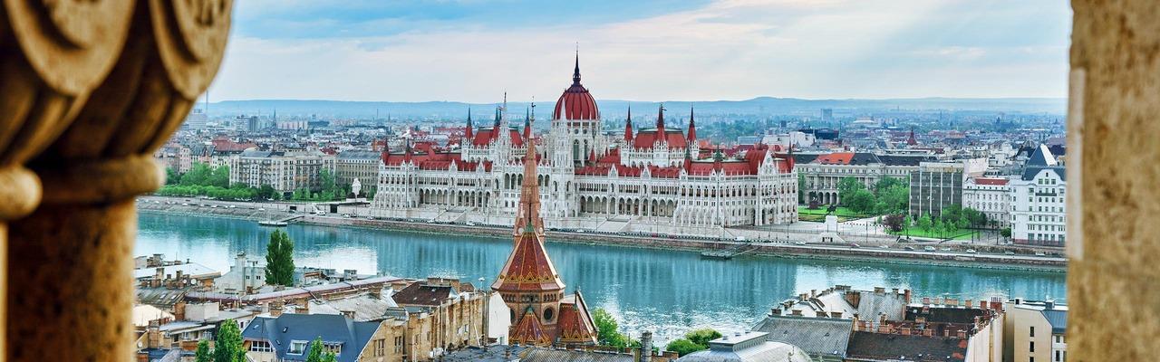 Stadtpanorama von Budapest