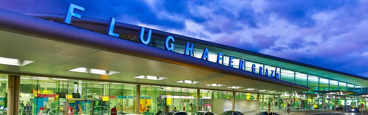 Flughafen Graz Außenansicht