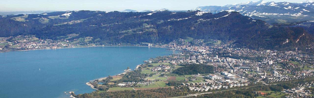 Panorama von Bregenz
