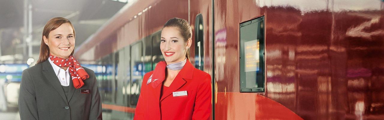 Zugbegleiterinnen von AIRail
