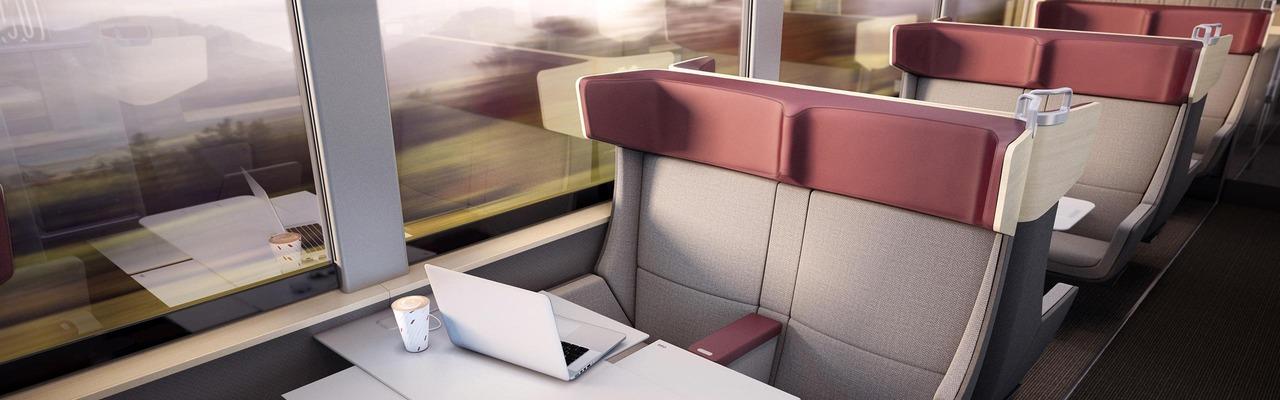 Railjet Designstudie Innenansicht
