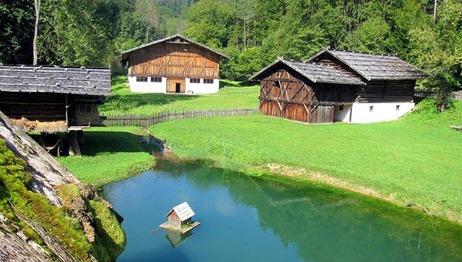 Freilichtmuseum Stübing in der Steiermark