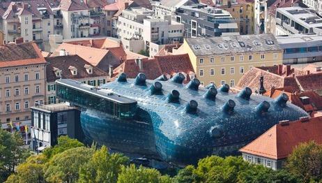 Kunsthaus Graz in der Steiermark