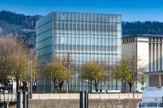 Kunsthaus Bregenz Außenansicht