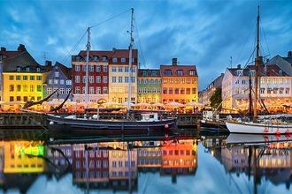 Bunte Häuser in Nyhavn, Kopenhagen