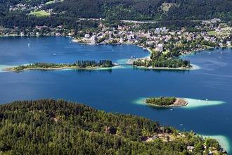 Luftaufnahme von Pörtschach am Wörthersee