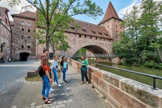 Eine Stadtführung durch Nürnberg