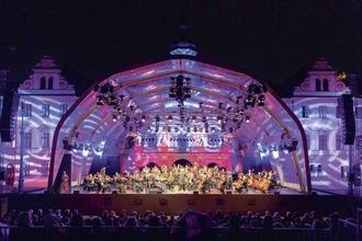 Die Bühne der Schlossfestspiele Thurn und Taxis